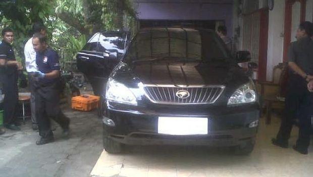Mobil Amien Rais yang ditembak orang tak dikenal