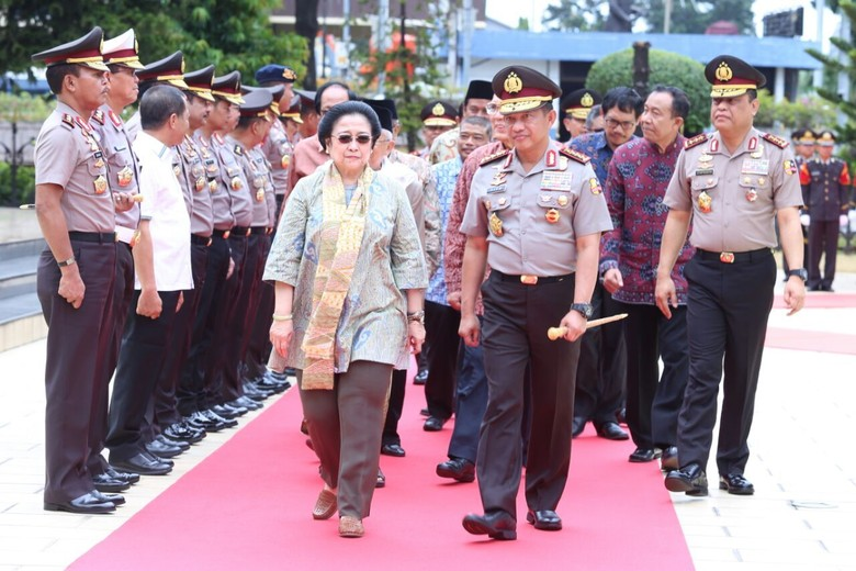 Megawati Minta Polri Dukung Tugas Badan Pembinaan Pancasila