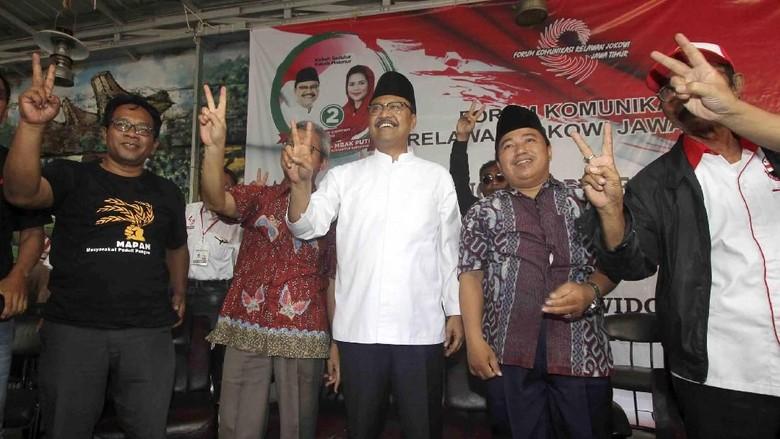 Dukungan Forum Komunikasi Relawan Jokowi Jatim