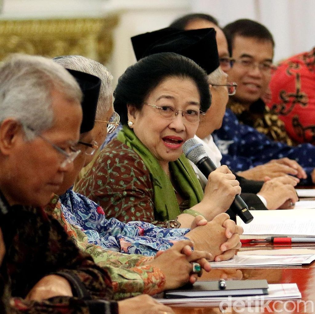 Digaji Rp 112 Juta, Ini Tugas Megawati dkk di BPIP