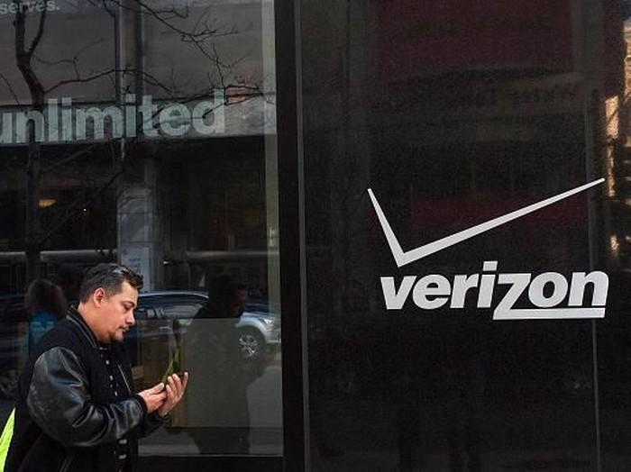 Verizon, salah satu operator telekomunikasi di AS. Foto: Getty Images