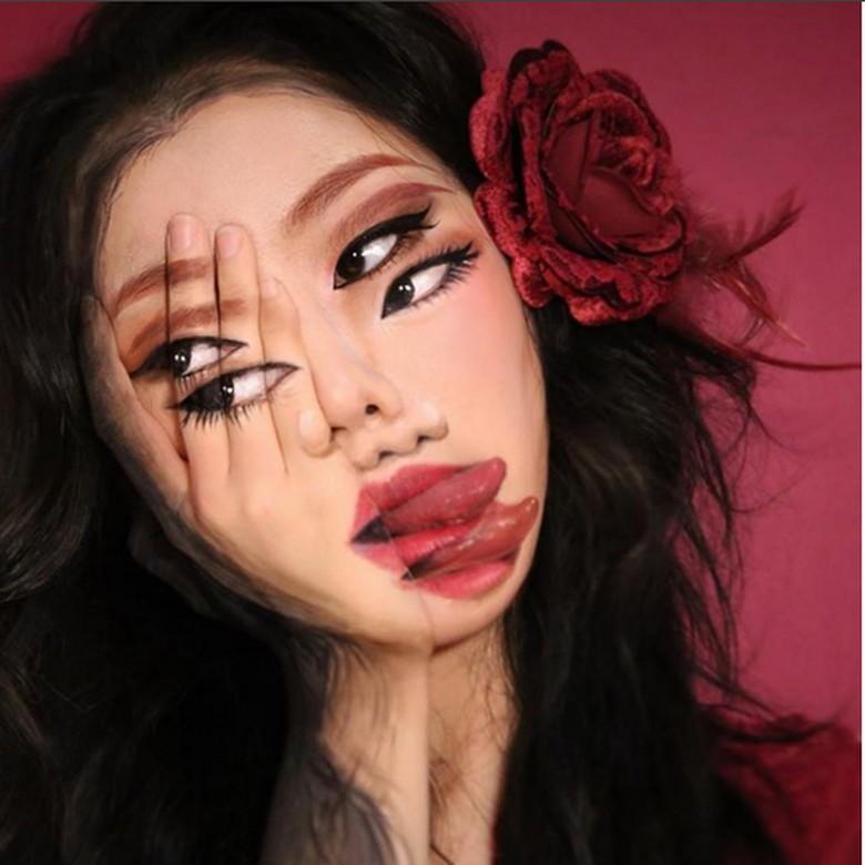 Dia adalah Dain Yoon seorang makeup artist dan juga selebgram asal Korea Selatan. (Foto: Instagram)