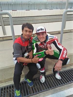 Mugiyono Harap Bisa Tangani Helm Pebalap Indonesia di MotoGP