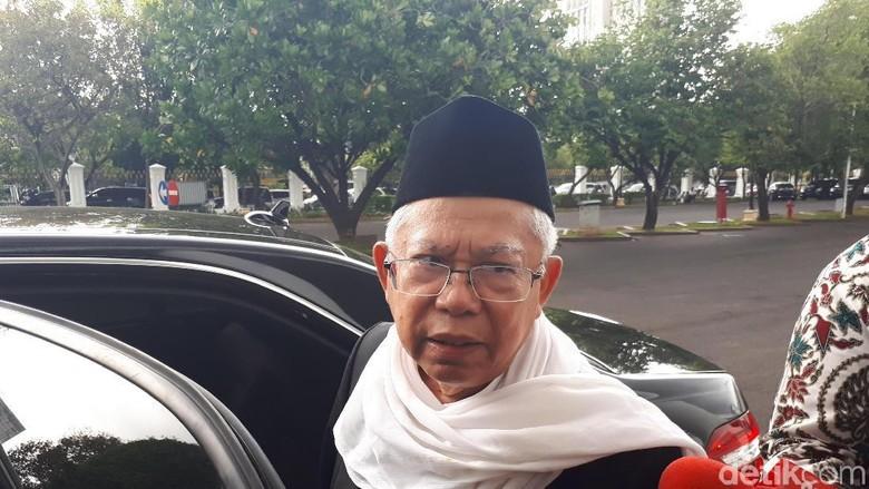 Diminta Hadiri Sidang Videotron, Maruf Amin: Bisa Diwakilkan