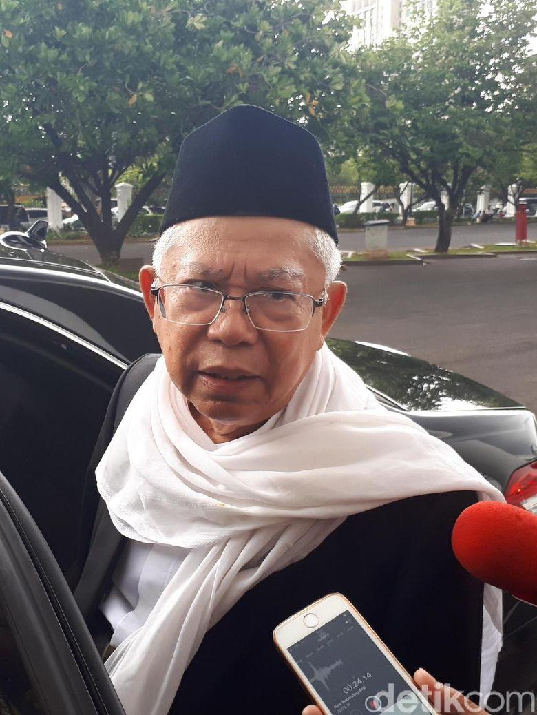 Jadi Cawapres Jokowi di Last Minute, Maruf Amin: Ada Arah Baru