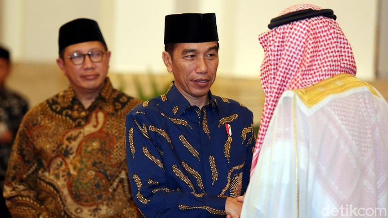 Pangeran Saudi Temui Jokowi di Istana Negara