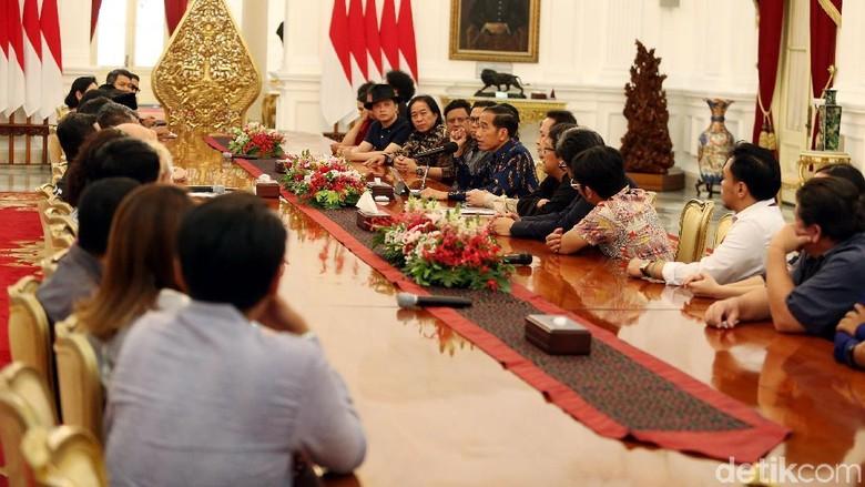 Jokowi Ingin Musik Jadi Pemersatu Bangsa