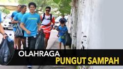 Sampah Menggunung Saat Plogging, Komunitas Lari Ini Sampaikan Harapannya