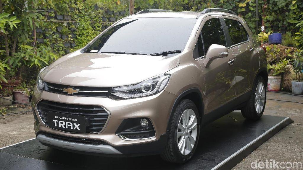 Chevrolet Trax Berkelir Tembaga, Yes or No?