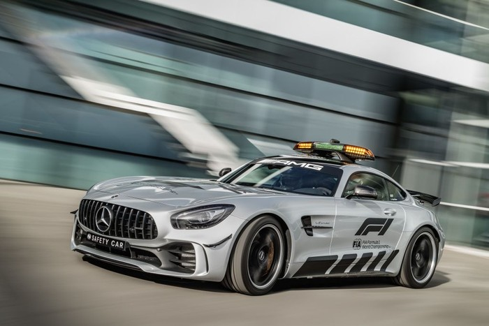 Mercedes Amg Gt R Safety Car Terbuas Sepanjang Sejarah F1