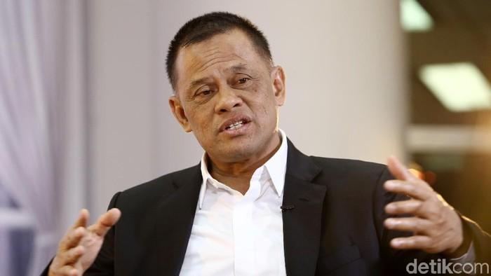 Jenderal Gatot Nurmantyo saat hadiri acara Blak-blakan bersama detikcom