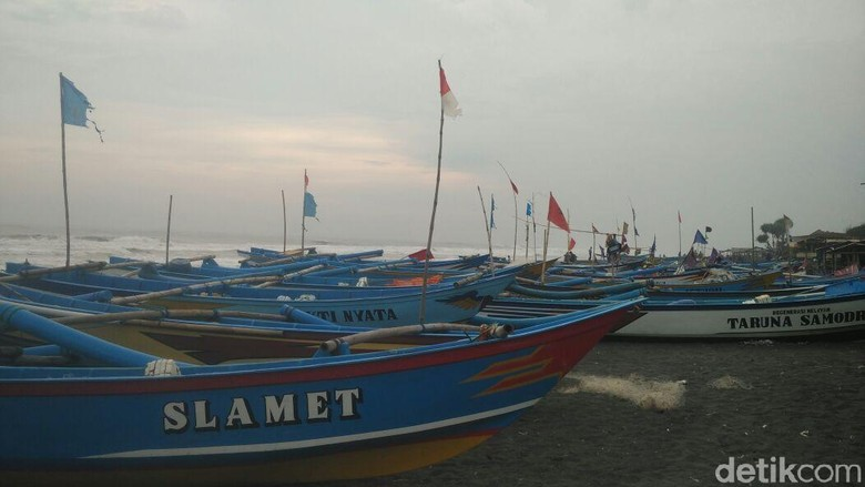 Terdampak Siklon Tropis Marcus, Nelayan Bantul Tak Melaut