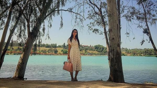 Foto: Gulse memang sering traveling ke berbagai destinasi di Turki. Ini saat ia di Adana (gulseamine/Instagram)