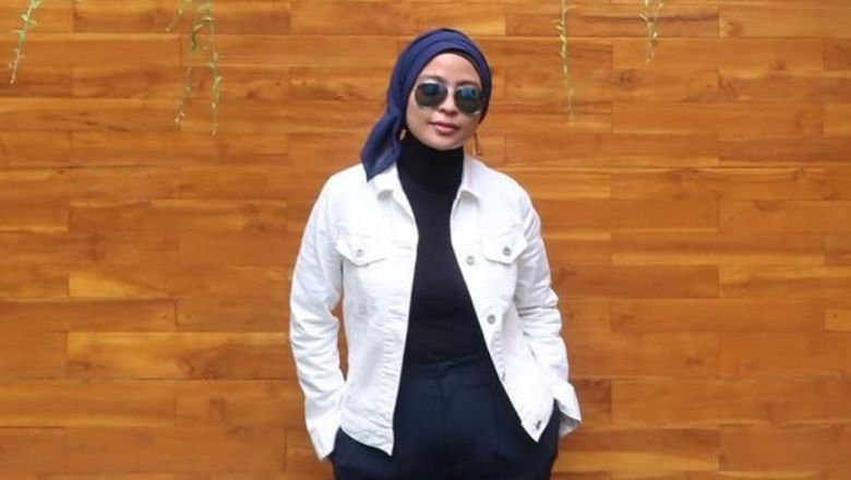 Vokalis grup band Kotak, Tantri memutuskan untuk menggunakan hijab. Foto: Tantri Kotak (Instagram)