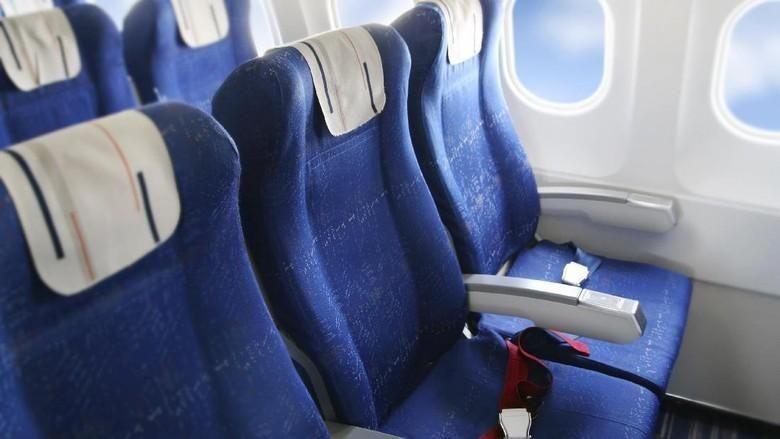 Ilustrasi kursi pesawat. (Foto: Thinkstock)