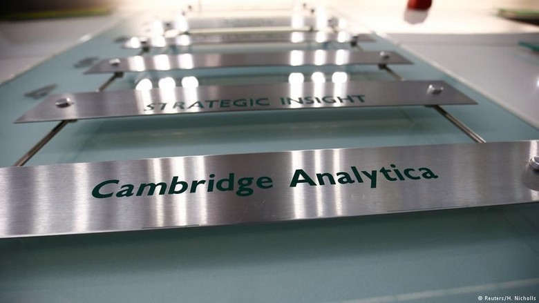 Buntut Kebocoran Data Facebook, Cambridge Analytica Tutup?