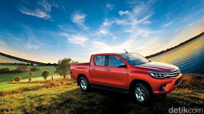 Selama semester pertama tahun 2018, Focus2move merilis Toyota Hilux menjadi mobil terlaris seantero ASEAN dengan total penjualan 88.842 unit. Hilux masih belum beranjak dari posisinya sejak tahun lalu.Foto: Toyota