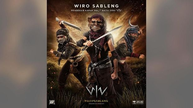 Golongan hitam dalam 'Wiro Sableng.'