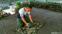 Foto: Mitos Batu Penentu Kesuksesan di Ciamis
