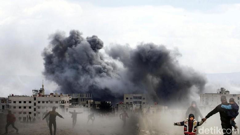 Pabrik Gas di Saudi Timur Terbakar Akibat Serangan Drone Houthi Yaman
