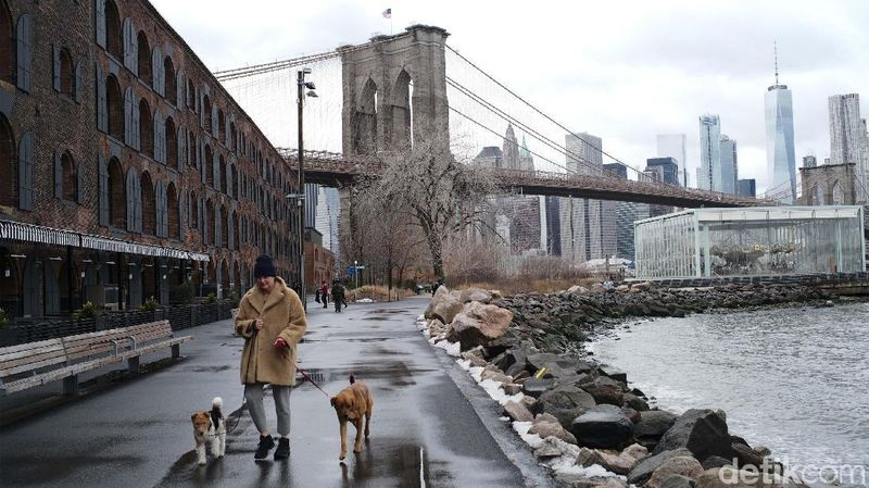 PBB merilis data 10 kota terpadat di dunia. New York di AS masuk urutan ke-10 kota dengan jumlah populasi 18.604.000 di tahun 2016 (Ari Saputra/detikcom)