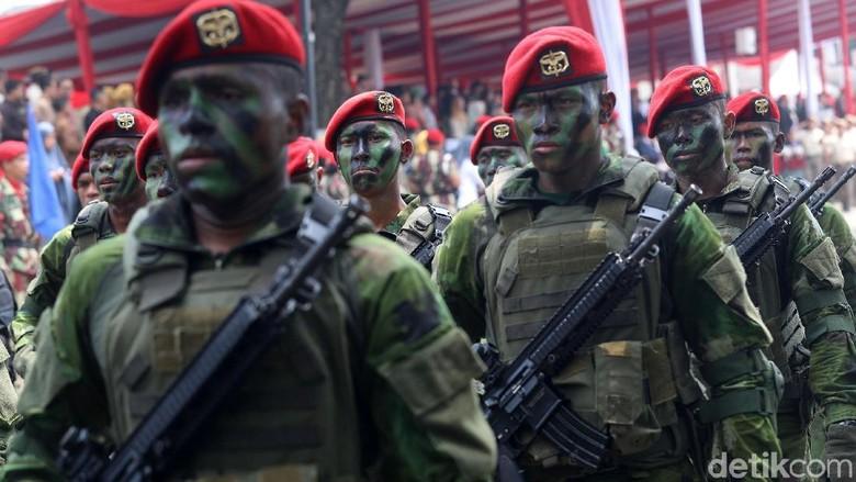 Polisi Gaet Kopassus dalam Operasi Antiterorisme