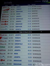 Bandara Sam Ratulangi Mati Listrik Penerbangan Terganggu