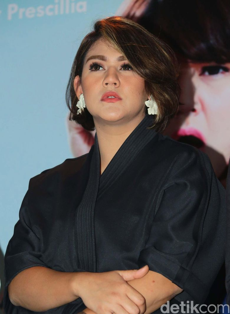 Sissy saat ditemui di Kawasan Raden Saleh, Jakarta Pusat pada Kamis (22/3) malam. Pool/Ismail/detikFoto.
