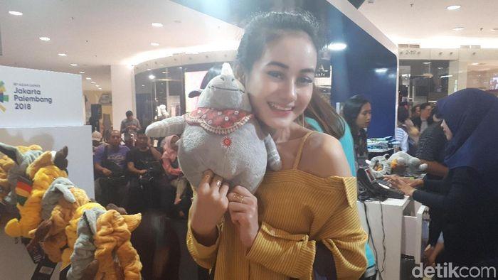 Dinda Hauw mengaku tak sabar menyaksikan Asian Games 2018 (Foto: Mercy Raya/detikSport)