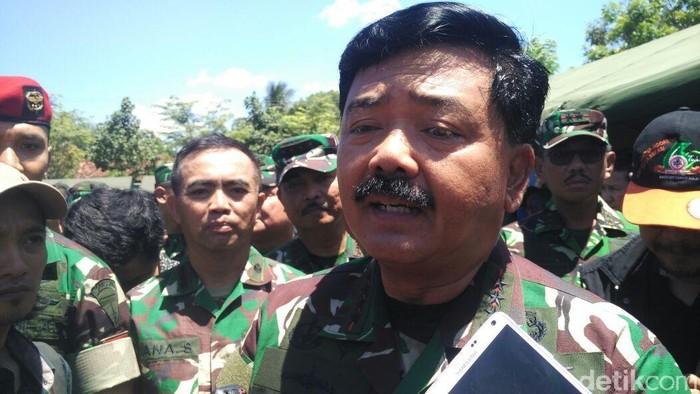Panglima TNI, Marsekal Hadi Tjahjanto