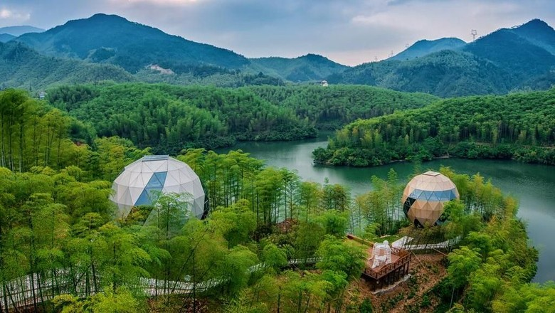 Planet Zero Retreat di Anji, China (booking.com)