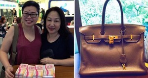 Mulia! Wanita Ini Tukar Tas Hermes Rp 142 Juta untuk Bantu Makan Orang Miskin