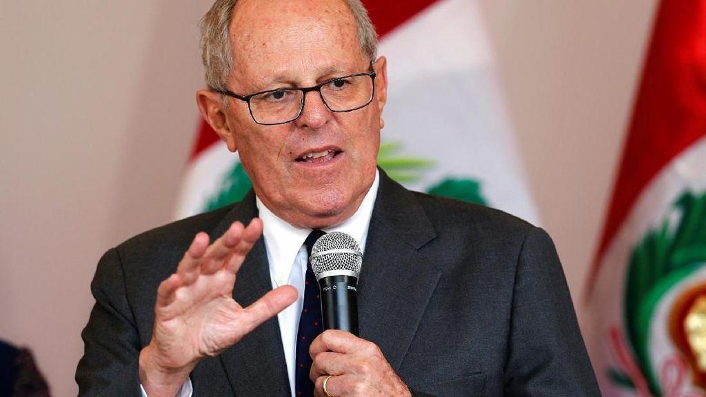Mantan Presiden Peru Ditangkap Terkait Kasus Korupsi Odebrecht