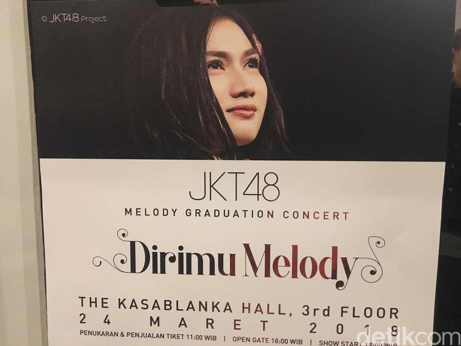 Melepas Melody Nurramdhani Laksani