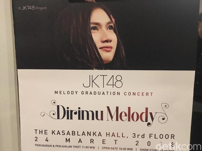 Melihat Keharuan di Konser Kelulusan Melody JKT48