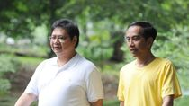 Dewan Pakar Golkar Usulkan Airlangga jadi Pendamping Jokowi