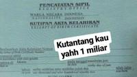 Bahkan ia sempat menantang salah satu akun untuk membuktikan jika dirinya adalah seorang pria.Dok. Instagram/Lambe Turah