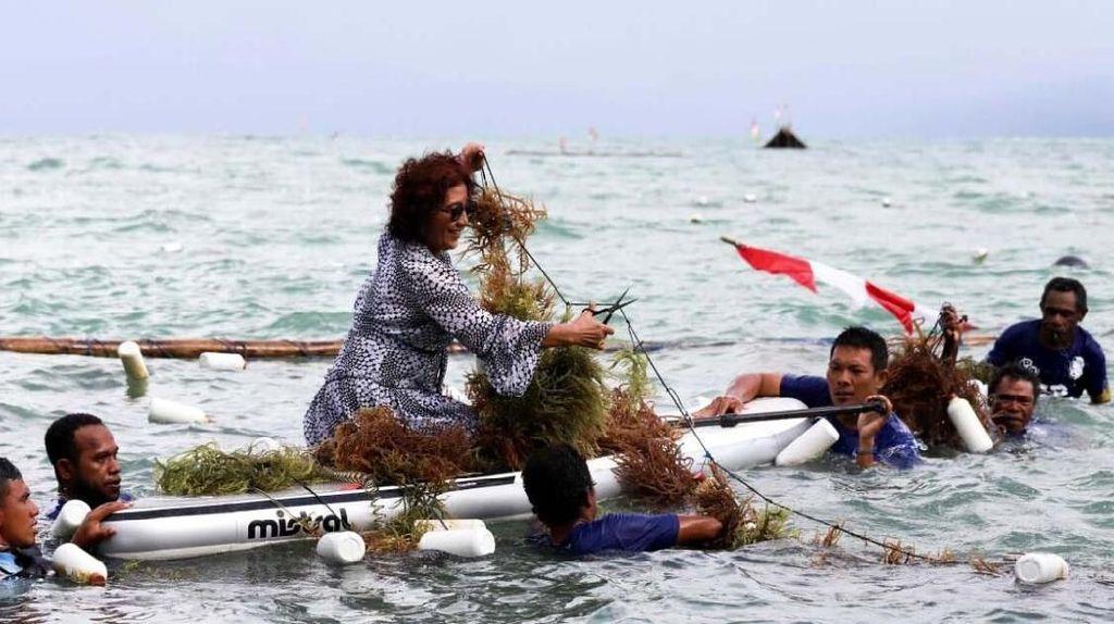 Menteri Susi Kecam Penambangan Pasir di Fakfak