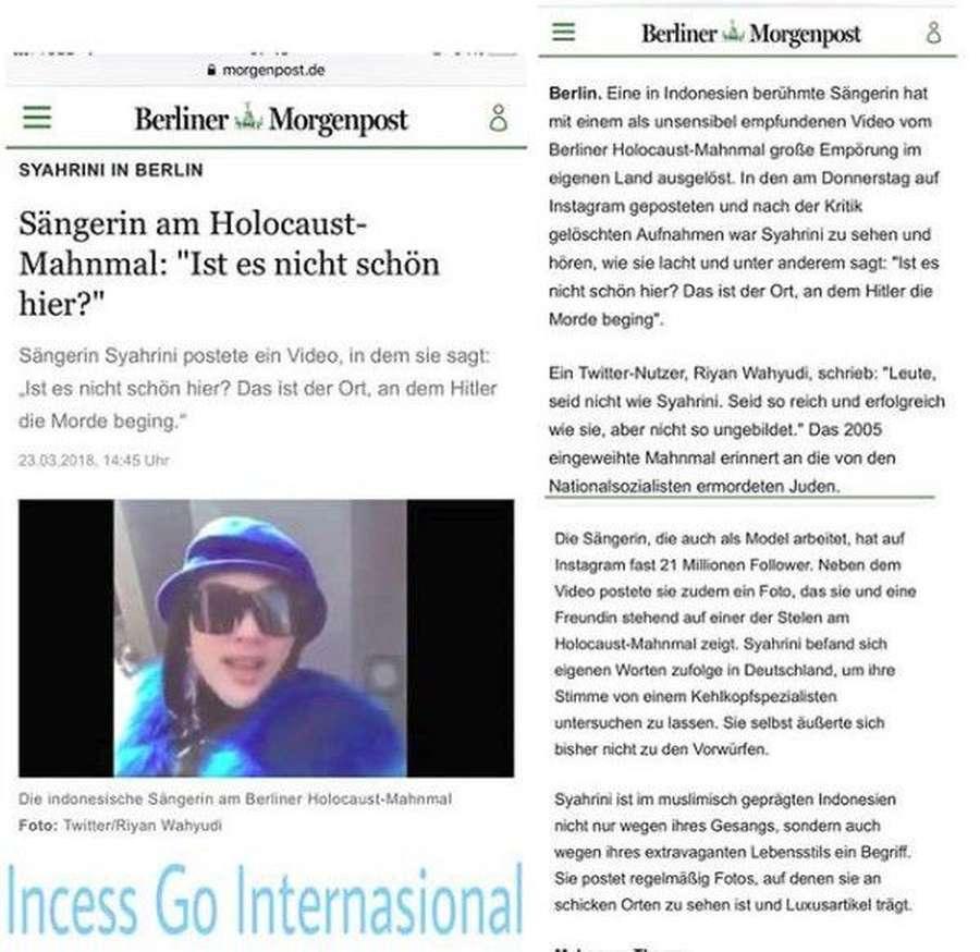 Syahrini Klarifikasi Holocaust Tapi Tak Minta Maaf, Poppy Sovia Nikah