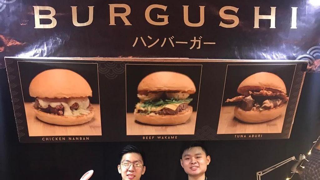 Jualan Burger Sushi, Pria Ini Raup Omzet hingga Rp 200 Juta/Bulan