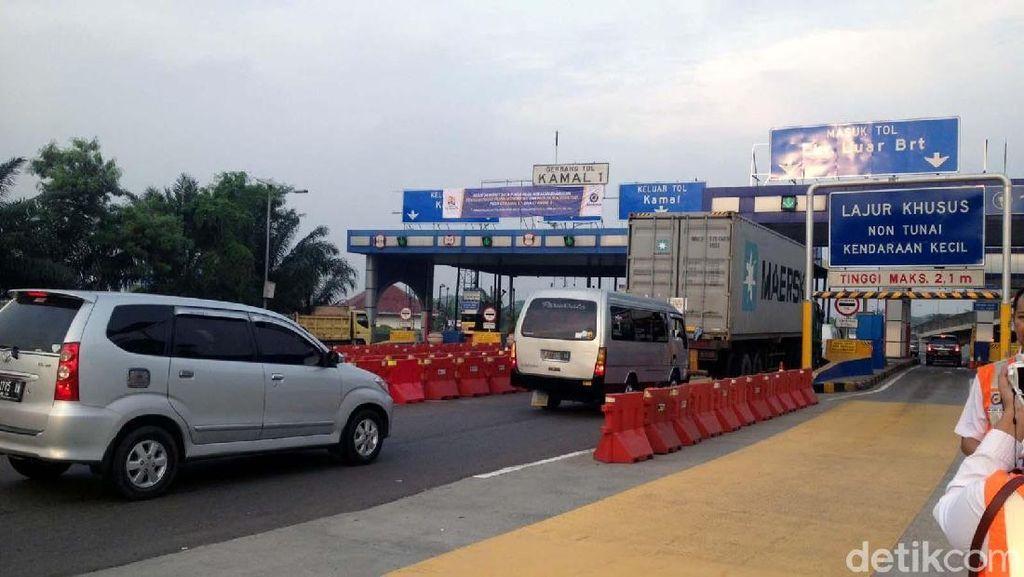 Kini dari BSD ke Bandara Soetta Cukup Lewat 3 Gerbang Tol