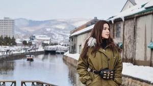 Foto-foto Raisa Bikin Pingin ke Jepang