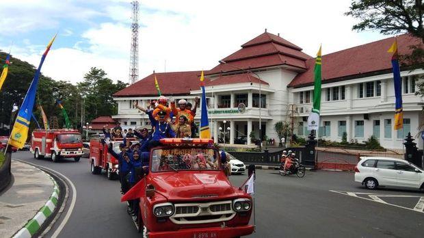 Anggoro merupakan petugas PMK Kota Malang