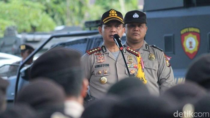Foto: Kapolrestabes Makassar Kombes Anwar Efendi. (Istimewa)