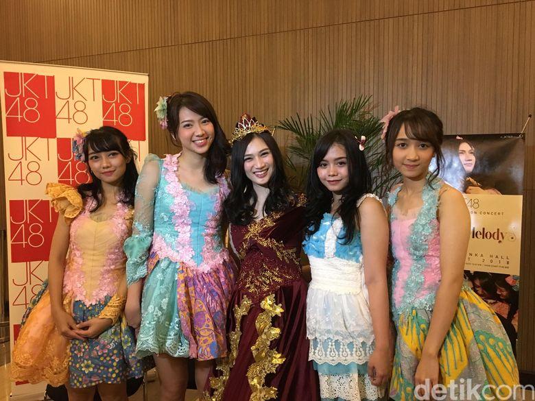 Inilah momen perpisahan Melody JKT48. Foto: Melody JKT48 / Monica Arum