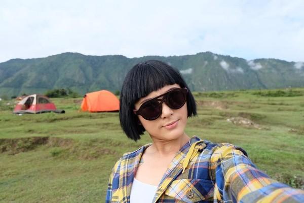 Aktris Poppy Sovia seringkali posting foto dirinya saat traveling ke akun Instagramnya @popsovia (popsovia/Instagram)