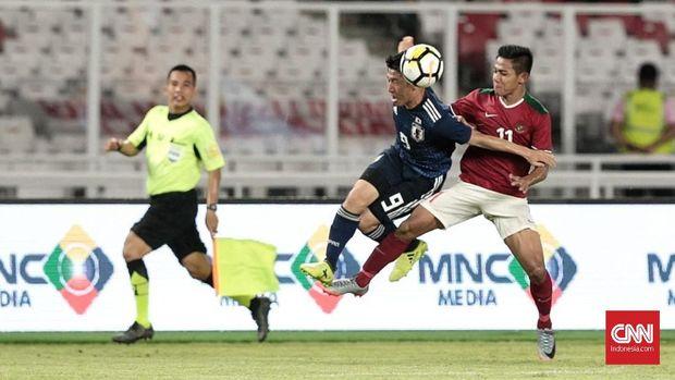 Timnas Indonesia U-19 akan bertemu timnas Jepang dalam perempat final Piala Asia U-19 2018.