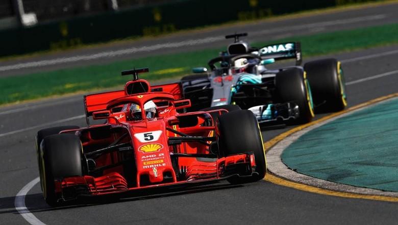 Vettel Menang di Australia, Hamilton Runner-up