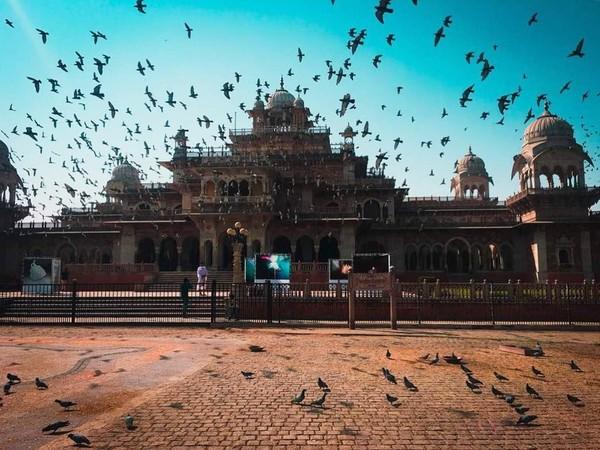Masih di Jaipur, India inilah Albert Hall Museum yang dipotretnya. Kece juga nih fotonya! (fernandaterezabr/Instagram)