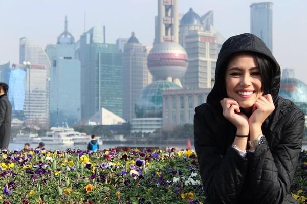 Kalau ini, fotonya saat di Shanghai, China (fernandaterezabr/Instagram)